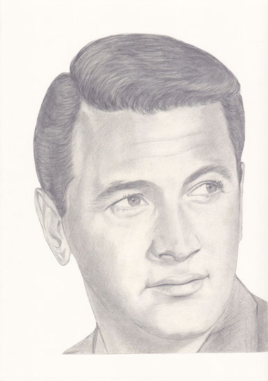 Rock Hudson, Portrait by Joachim Thiess