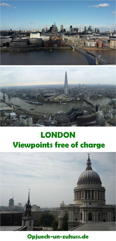 London viewpoints free of charge