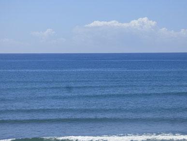 今日は海がキレイでした~