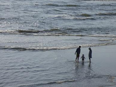 久しぶり~ 海遊び出来て良かったね。