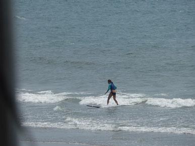 今日も小波でしたが夏休み中のN23ちゃんは練習してましたよ~
