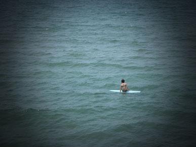 Surfer girl ! 先日の一コマ
