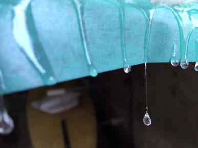 雨の日はこんな感じです。