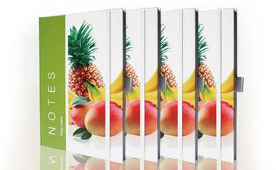 Böcker, Handel mit Fruchtextrakten