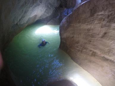 vasque de rêve stage verdon canyoning sud est destination canyon