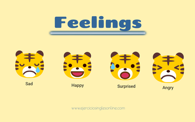 Emociones en inglés.