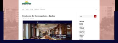 Internetseite berlinstory.de