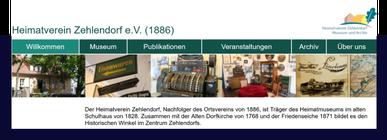 Internetseite Heimatmuseum-Zehlendorf.de