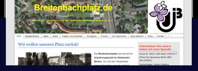 Internetseite Breitenbachplatz.de
