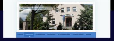 Internetseite Kulturverein-blankenfelde.de