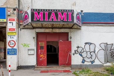 Die Tanzbar Miami.
