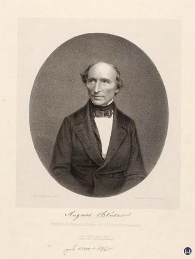 Porträt Ernst August Stüler