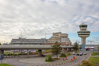 Flughafen Tegel, Hauptgebäude. Berlin - Reinickendorf.