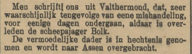 Provinciale Drentsche en Asser courant 16-11-1905