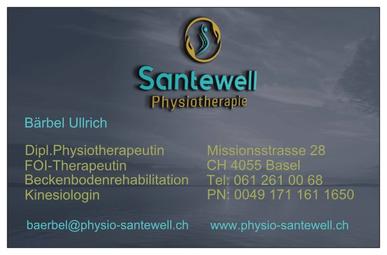 Bärbel Ullrich, Physiotherapie Santewell, Beckenbodenspezialistin, FOI-Therapeutin, Rheuma, Schwangerschaft, Kinesiologin, Reset, Physiotherapeutin