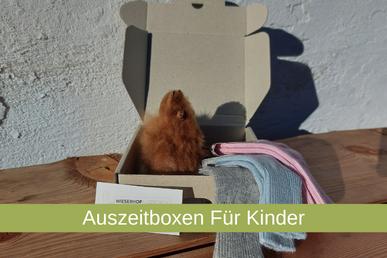 Geschenke für Kinder, Auszeitbox, Wieserhof,
