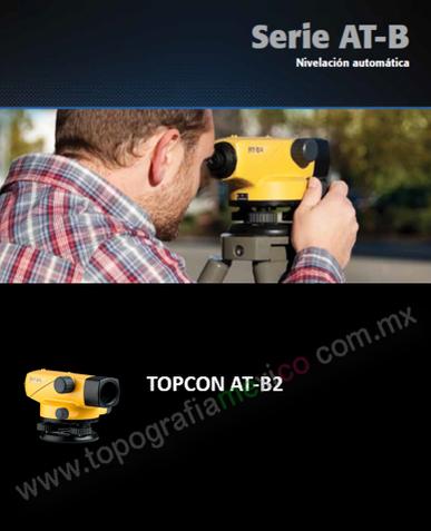 nivel topografico TOPCON ATB2