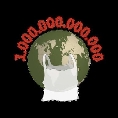 Jedes Jahr werden weltweit mehr als 1 Billion Plastiktüten verbraucht. Die umweltfreundlichste Tüte (das Tütle) hilft mit, diese Zahl zu verringern.