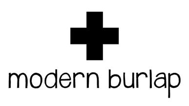 Modern Burlap- Langes bébé design et bio - Les Bambétises