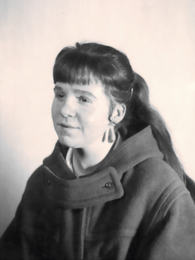 Bettina Heinen-Ayech 1958 in Kopenhagen