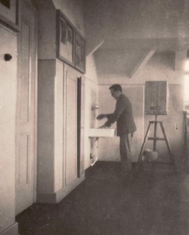 Erwin Bowien in der Münchener Kunstakademie