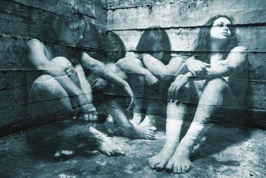 Politiske fanger i Chile (maleri)