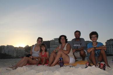 les5 à Copacabana