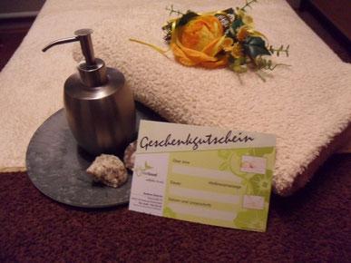 Massage Gutschein FeelGood Dietrich Winterberg Niedersfeld Sauerland Aromamassage HotStonemassage
