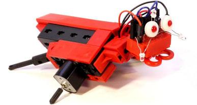 varikabi FT Roboterbausatz zum Stecken mit Fischertechnik