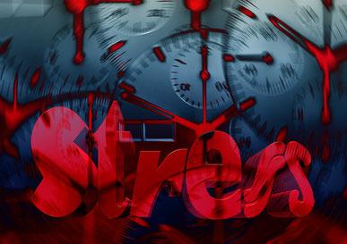 Gesundheitliche Probleme durch Zeitmangel und Stress