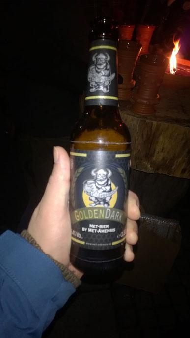 Golden Dark Met Bier