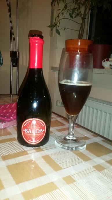 Birra Rossa Balda Metodo Artiginale
