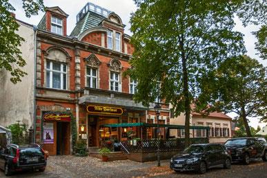 Das Fleischerhaus in Alt-Marienfelde in Berlin.