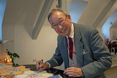 Besuch des Prof. Tanaka in Blankenfelde-Mahlow.