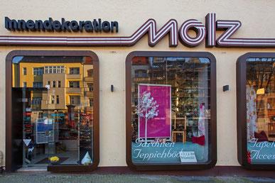 Molz Raumdesign in der Kasierstraße am Mariendorfer Damm in Berlin.