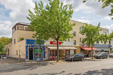 Die Roma-Lichtspiele in der Goltzstraße in Berlin-Lichtenrade.