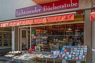 Lichtenrader Bücherstube in der Lichtenrader Bahnhofsstraße.