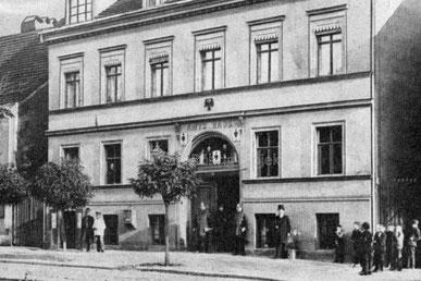 Schönebergs erste Rathäuser.