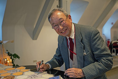Bruno Taut, Teil 3. Besuch des Prof. Tanaka in Blankenfelde-Mahlow.