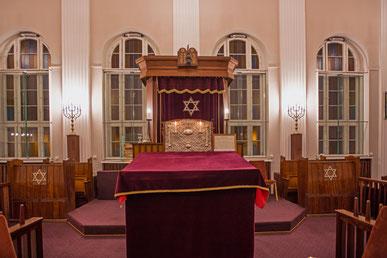 Ein Besuch in der Synagoge Fraenkelufer.