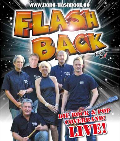Die Band Flash Back wird ab 20Uhr für Stimmung sorgen