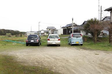 赤磐の川野整体施術院は車の駐車場が完備しています。