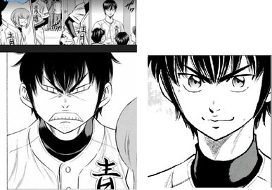 Disegno Anime Sawamura