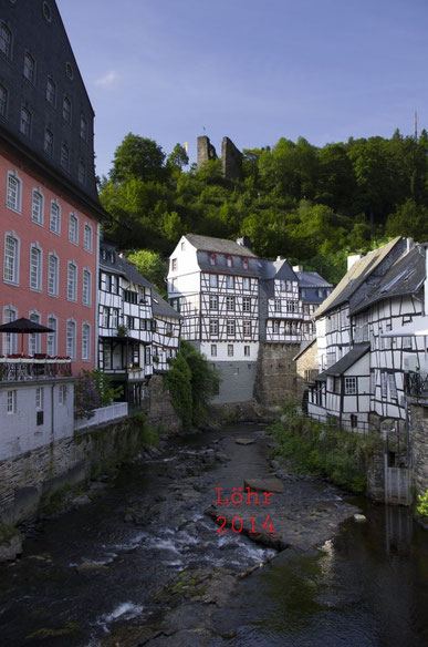 das Rote Haus in Monschau