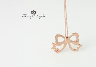 【Mary Cadogaki】リボンペンダント