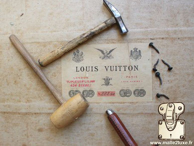 restauration d'une malle louis vuitton de légende
