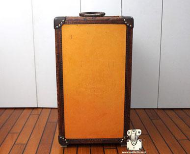 dégradé jaune orange sur malle Louis Vuitton