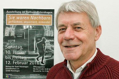 Zum schwierigen Verhältnis von Loccum und den Juden hält Fritz Erich Anhelm einen Vortrag