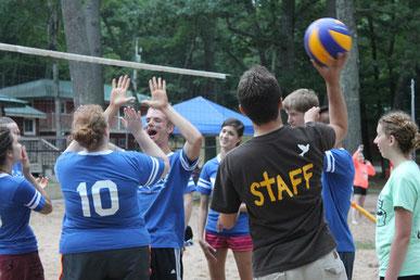 Summer Staff Volleyball
