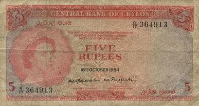 Symbolbild 4 Rupies